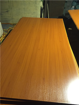 Red colour Melamine Plywood/MDF